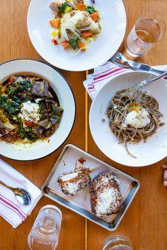 pasta, overhead, napkin JCHONG STUDIO: eat