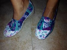 Alpargatas patch Espadrilles, Slip On, Flats, Sneakers, Shoes, Fashion, Scrappy Quilts, Espadrilles Outfit, Loafers & Slip Ons