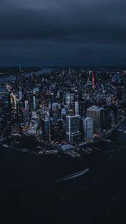 أجمل وأحدث خلفيات بدقة 8k للموبايل Wallpapers For Mobile Aerial View New York Aerial