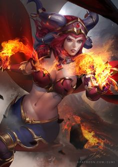 Alexstrasza (by zumidraws)
