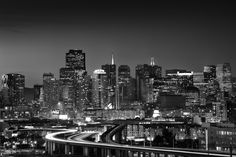 San Francisco skyline - Potrero Hill