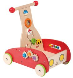 Wonder Walker by Hape - $84.95  The Elves are hard at work as we speak getting this ready for B's first gift from Santa :)