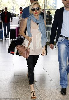 Important role: The actress hit the airport after her 12-day stint as a juror at the Canne...