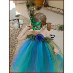 tulle peacock