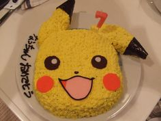 pokemon cake - It's pokemon-cake for my daughter's BD.