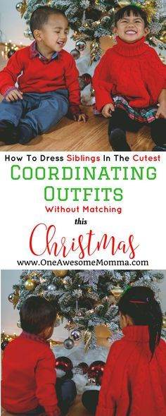 [ad] Planning Christ [ad] Planning Christmas outfit for your kids? This guide tells you how to dress siblings in cute coordinating outfits from Carter's Babies & Kids! #lovecarters #coordinatingoutfits #kidsstyle #toddlerstyle #holidaystyle #holidayfashion | sibling outfits | sibling outfits brother sister | coordinating outfits for siblings | christmas coordinating outfits | sibling christmas outfits | sibling coordinating outfits | christmas sibling outfits | holiday outfits christmas…