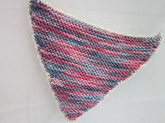 Pink knitted bunting £15.00