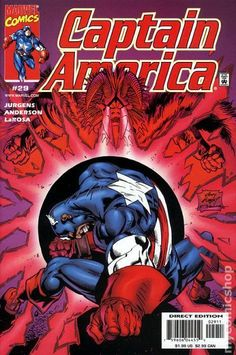 Captain America (1998 3rd Series) 29  Marvel Comics Modern Age Comic book covers Super Heroes  Villians