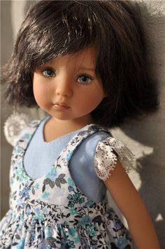 Little Darling, Dianna Effner Beautiful Dolls, Most Beautiful, Realistic Dolls, Glitter Girl, Doll Shoes, Little Darlings, Little Sisters, Sculpting, Doll Clothes