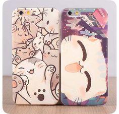 Smiling Cat iPhone 6 Plus Case