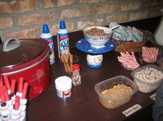 Hot Chocolate Bar #1 for polar express party