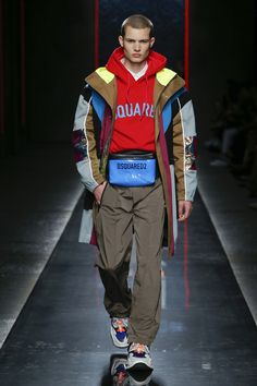 b09bc0b4d39350 Dsquared2 Spring 2019 Menswear Fashion Show Collection: See the complete  Dsquared2 Spring 2019 Menswear collection