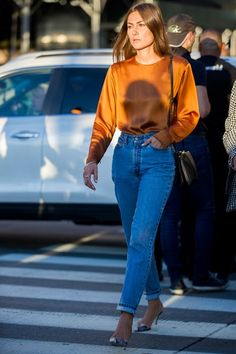 Ditch your skinny jeans for a retro stiff denim style with an original fit. You'll have a friend for life promises Vogue editor Julia Hobbs.