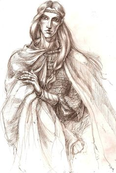 """""""You speak of high things,"""" Gwindor asnswered, """"and plain is it that you have lived among the Eldar. But a darkness is on you if you set Morgoth and Manwe together, or speak of the Valar as foes of Elves and Men; for the Valar scorn nothing, least of all the Children of Illuvatar. It is a prophecy among us that one day a messenger from Middle Earth will come through the shadows to Valinor, and Manwe will hear and Mandos relent."""""""