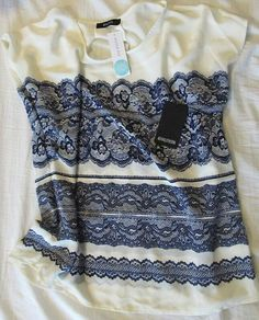 Stitch Fix blouse love the blue