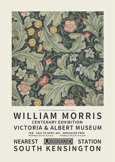 William Morris, Wall Prints, Poster Prints, Jugendstil Design, Art Exhibition Posters, Kunst Poster, Plakat Design, Jolie Photo, Oeuvre D'art