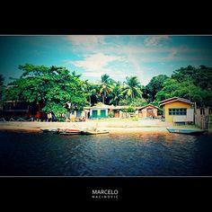 Caraíva - Bahia by marcelo nacinovic, via Flickr