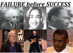 FAILURE before SUCCESS  http://badassbutton.com/failure-before-success