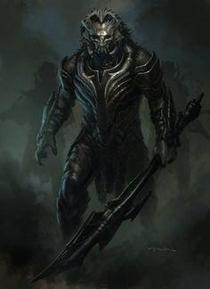 Guerreiro demoníaco, aliado de demônio, algoz, paladino caído