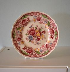 Antique/ Vintage 10 Inch Dorchester Dinner Plate by Johnson Brothers by AntiquesNOldies on Etsy