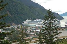Princess Sapphire cruise ship from Vancouver cruising Alaska:  Ketchikan/Juneau/Skagway/Whittier