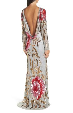 Sequin Gown, Beaded Gown, T Length Dress, Floral Gown, Beige Dresses, Classy Outfits, Timeless Fashion, Beautiful Dresses, Ball Gowns