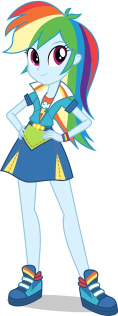 "Rainbow Dash in ""Equestria Girls Friendship Games."" In the new EG film…"