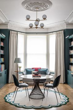 Interiors: Styling A Rug In A Dining Room