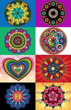 La palabra mándala  o mandala  proviene del sánscrito, y significa Círculo Sagrado . Es un símbolo de sanación, totalidad, unión, integridad...