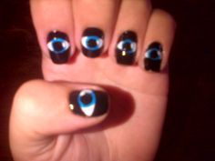 #ojos #nailart
