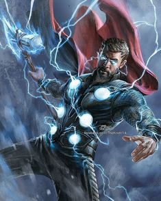 New trending pictures collection super heroes & Avengers in very handsome and storng Avenger Thor pic collations Marvel Comics, Marvel Fanart, Heros Comics, Marvel Heroes, Marvel Avengers, Posters Batman, Batman Vs, Captain Marvel, Black Panther Marvel