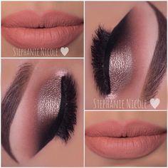 Back to posting some eye looks 💗👁 -Brows: @benefitcosmetics Brow Zings #3 ✨Eyeshadows: @anastasiabeverlyhills -Crease: Burnt Orange & Sienna -Outer Crease: Beauty Mark -Outer V: Noir -Lid: Metal -Liner @maccosmetics Blacktrack -Lashes: @esqido -Lips: @liplandcosmetics Rezy #maccosmetics #makeup #benefitcosmetics #benefitbrows #anastasiabeverlyhills #muastephnicole