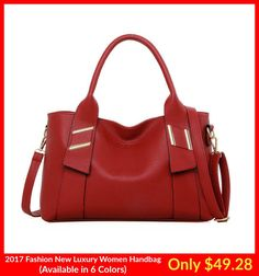 2017 Fashion Summer Luxury Women Bags Leather Handbags Messenger Red!! A new collection of beautiful and affordable prices Handbags have been launched to our Store. These Handbags are really nice in look and 100% pure in quality. You should must visit our store and check these beautiful bags. So, Visit our store and Buy these Bags because the stock is limited.