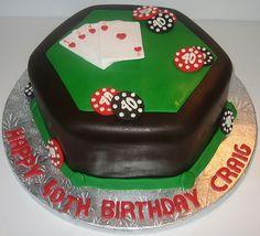 Fondant Poker Cake | Flickr - Photo Sharing!