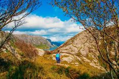 hiking up Brufjell Norway Hiking Norway, Camping Hacks, Survival, Mountains, Places, Cute, Travel, Viajes, Camping Tricks