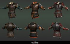 Heavy armor set I did for The Witcher 2 - Assassins of Kings game