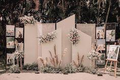 Wedding Backdrop Design, Wedding Stage Design, Wedding Reception Backdrop, Indoor Wedding Decorations, Engagement Decorations, Minimalist Wedding Decor, Zeina, Backdrops, Creations