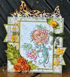 Wee Stamps - Rowan Fairy
