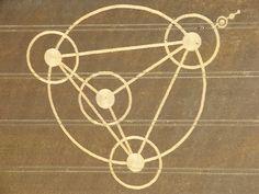 Triangle Crop Circle