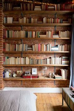 Book storage (brick wall texture)