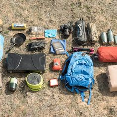 Camping gear packing list