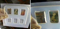 How To Embed Paper Into Resin