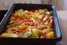 Legume la cuptor pentru cea mai delicioasa si simpla cina cu putinta Romanian Food, Kung Pao Chicken, Potato Salad, Ethnic Recipes, Wordpress, Mai, Awesome, Fine Dining, Bebe