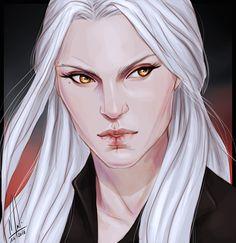 Manon Blackbeak by cocotingo. Heir of Fire. Queen of Shadows. Empire of Storms. Sarah J Maas