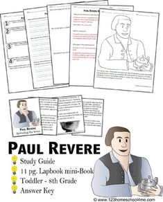paul revere book report