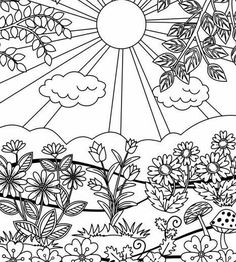 Two Coloring Pages for Kids or Grown-ups. Work Hard & Be
