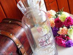 Rozaneczka: Keep Calm and Enjoy Life | Karafka do wina