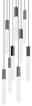 Sonneman Trinity Nine Light Multi Light Pendant