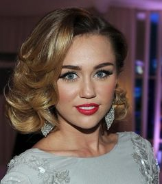 50s wave - love this look might work with my  med length hair