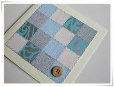 Wallpaper patchwork cards